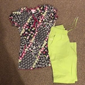 Women's uniform set XS PETITE Koi